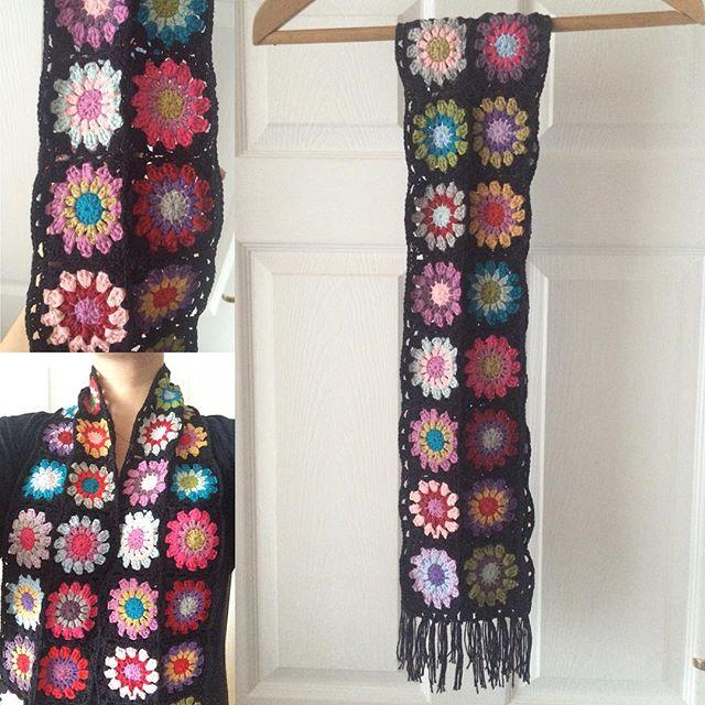 fozyloxy69 crochet scarf