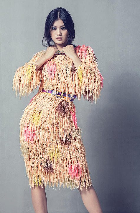 Crochet Fashion : fringe crochet fashion dress celiab