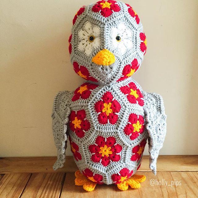 holly_pips crochet heidibears owl
