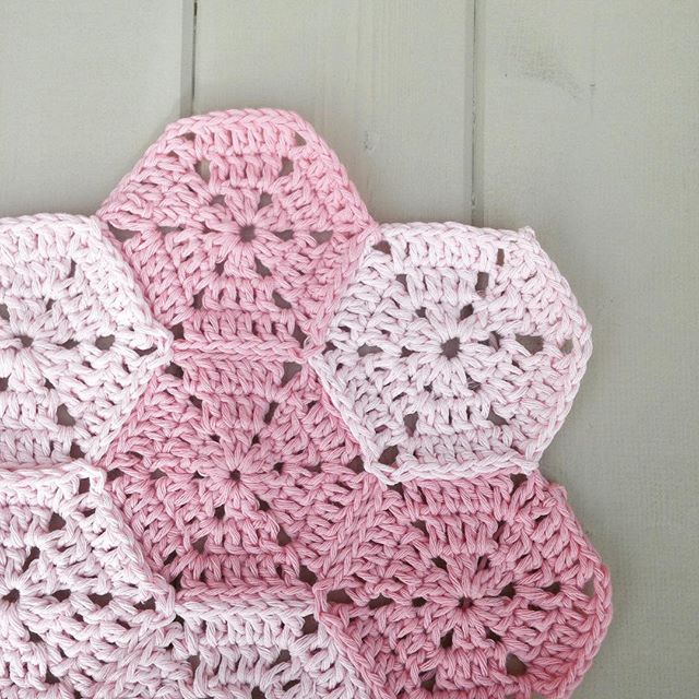 gooseberryfool crochet pink baby wip