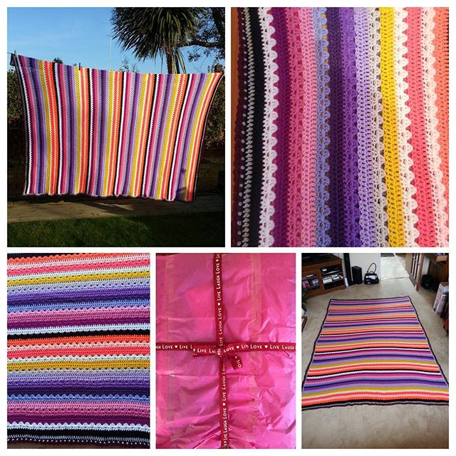 helenolding crochet blanket collage