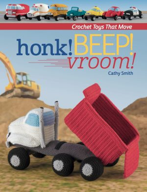 honk beep vroom crochet book