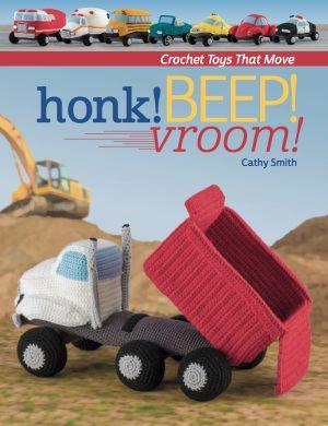 honk beep vroom crochet book