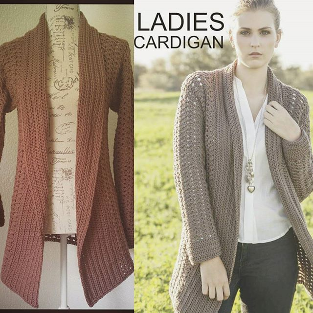 hookybren crochet cardigan pattern in Stitches Mag