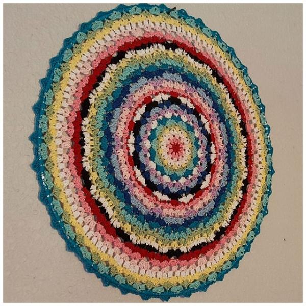 espoir crochet pattern mandala