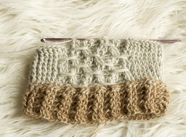 how to crochet smock stitch