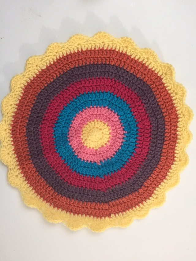 crochet mandalasformarinke by lisa