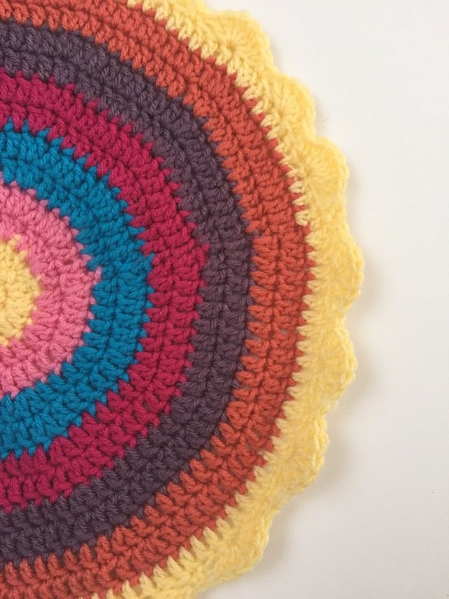 lisa's crochet mandala for marinke