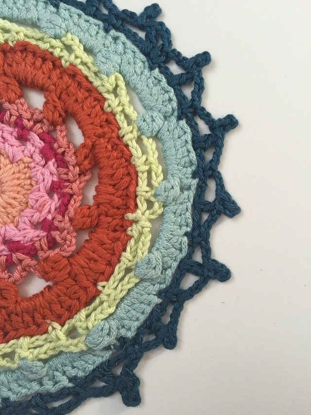 crochet mandalas for marinke by little treasures