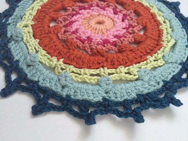 maya's crochet mandala contribution