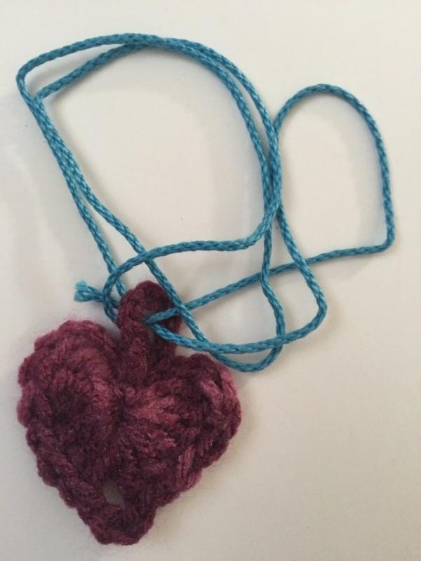 crochet heart for marinke