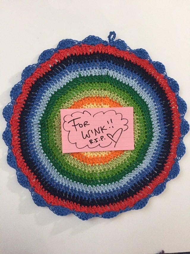12 round standard crochet mandala for marinke