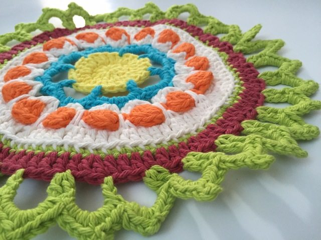 crochet mandala for marinke by geri