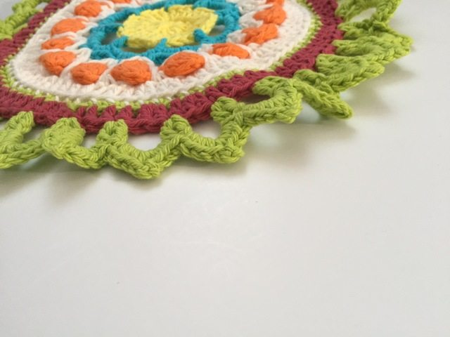 crochet mandala for marinke edge