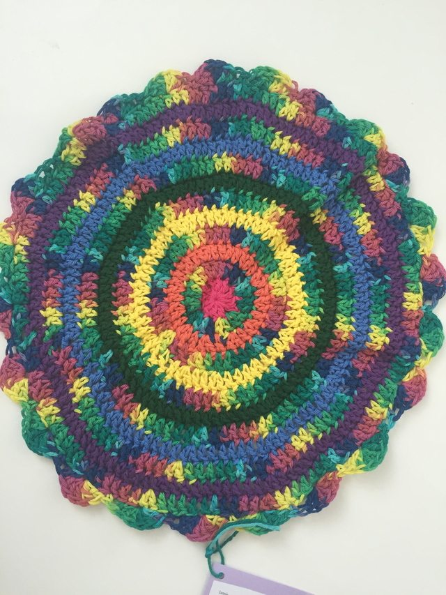 Jamie's Crochet Contribution to Mandalas for Marinke