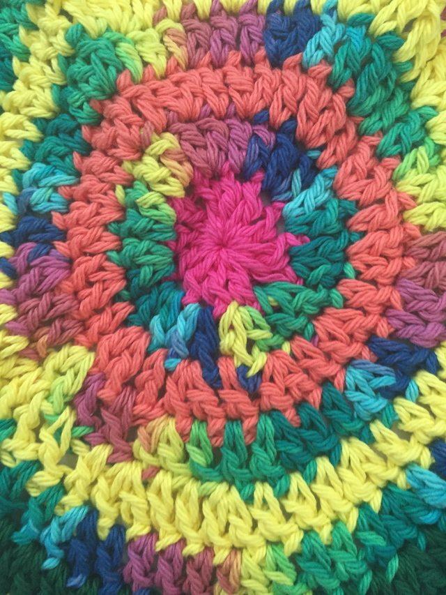 crochet mandala by jamie