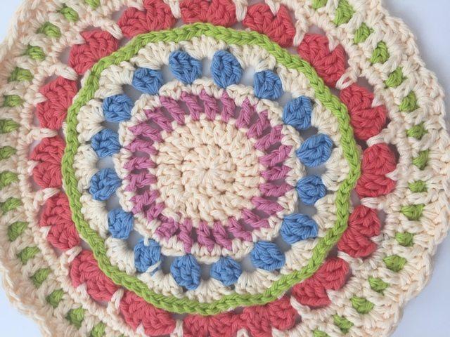 anonymous crochet mandala