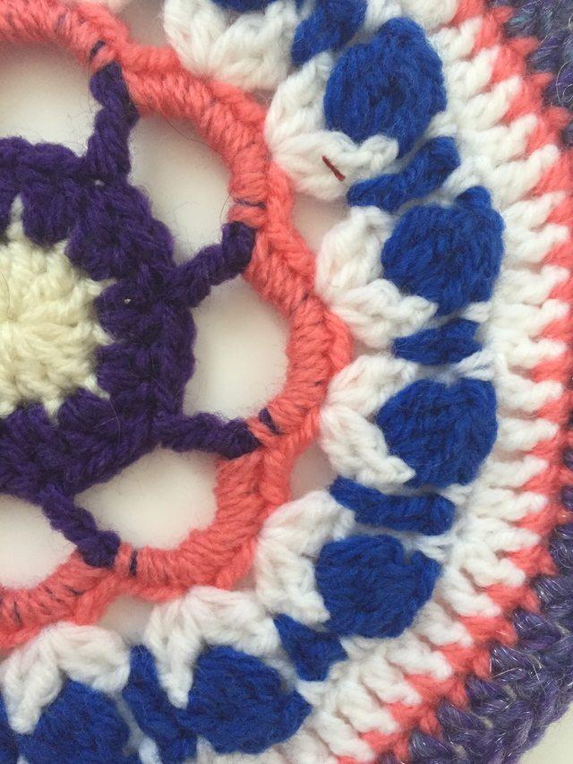 Louisa's Crochet Contribution to MandalasforMarinke