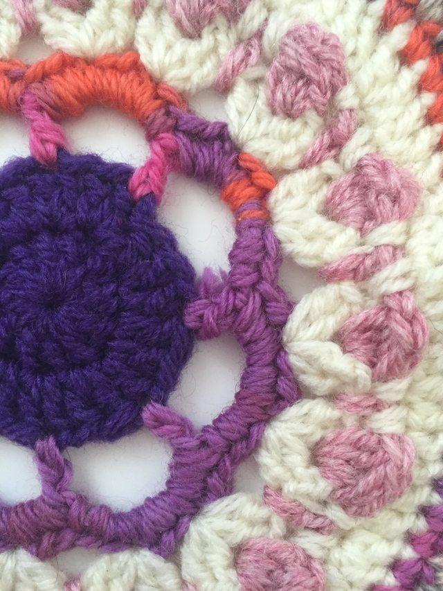 crochet mandalas by louisa
