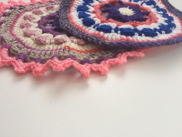 Louisa's Crochet Contribution to Mandalas for Marinke
