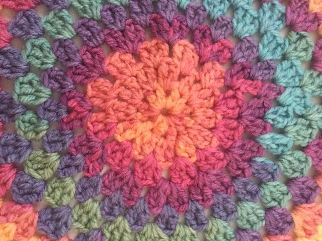 Crochetlovingcelticghirl's Crochet Contribution to Mandalas for Marinke