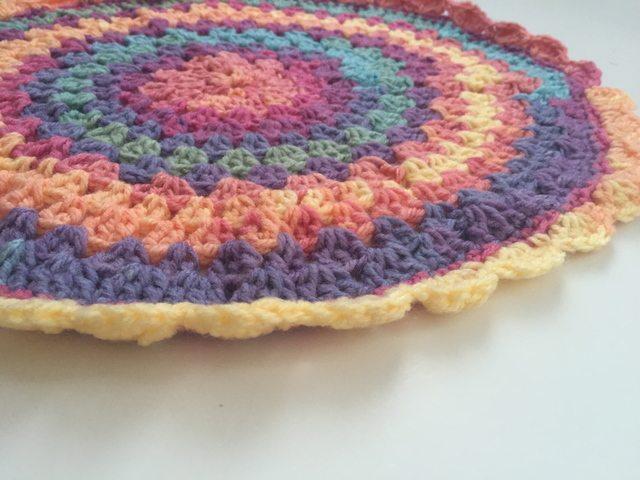 Crochetlovingcelticghirl crochet mandala