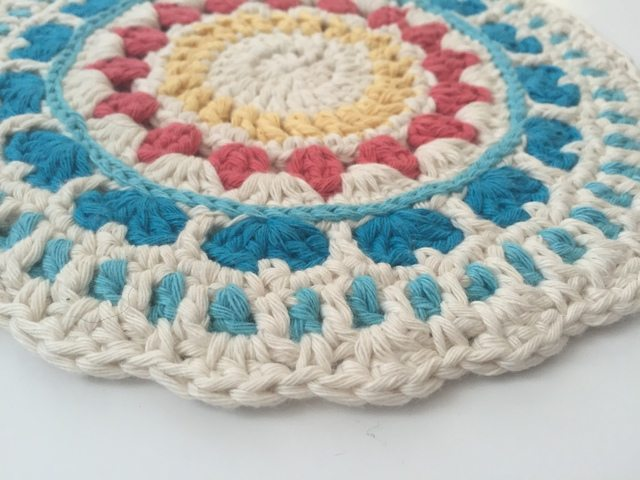 Maryann's Crochet Contribution to Mandalas for Marinke