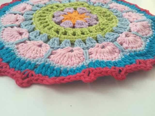 Shelly's Crochet Contribution to Mandalas for Marinke