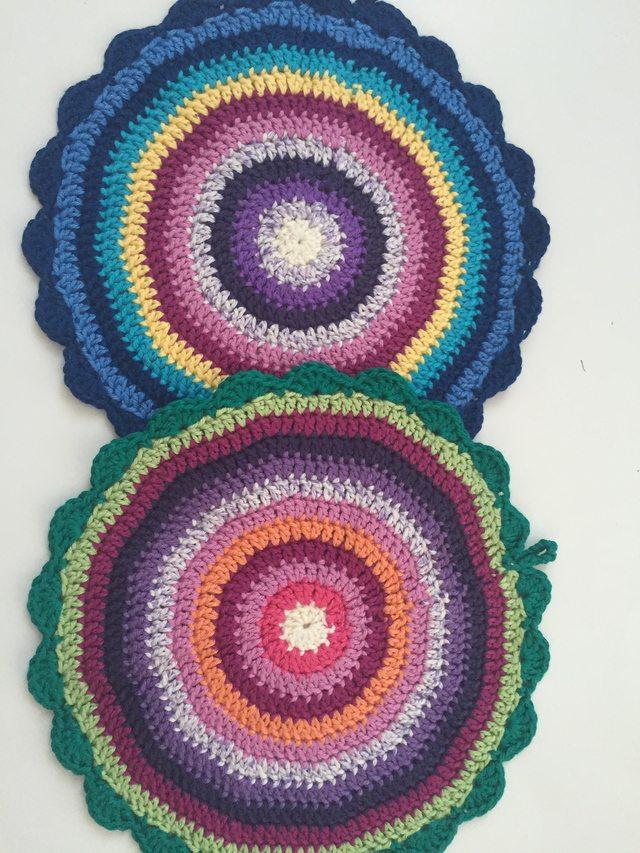 Jennifer's Crochet Contribution to Mandalas for Marinke from Australia