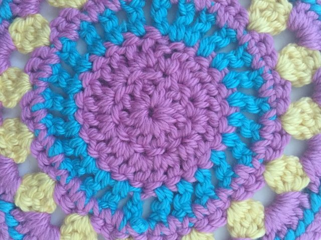 Jennifer's Crochet Contribution to Mandalas for Marinke from Australia