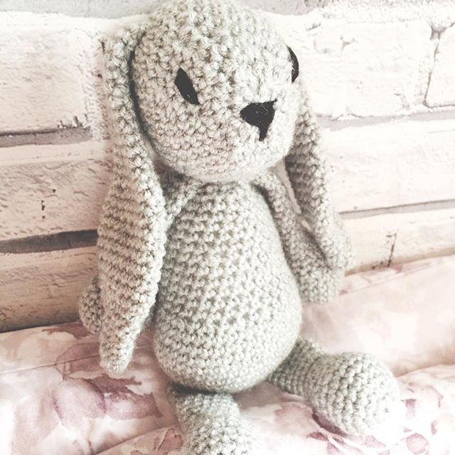 kellyandcrochet crochet bunny