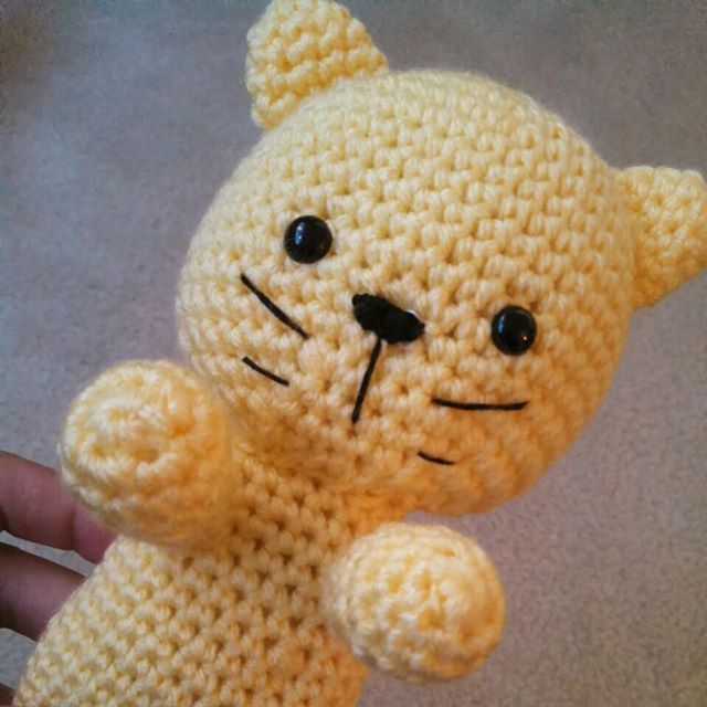 kileygo crochet kitty rattle