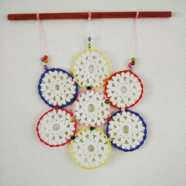lisablue76 crochet mandalas art