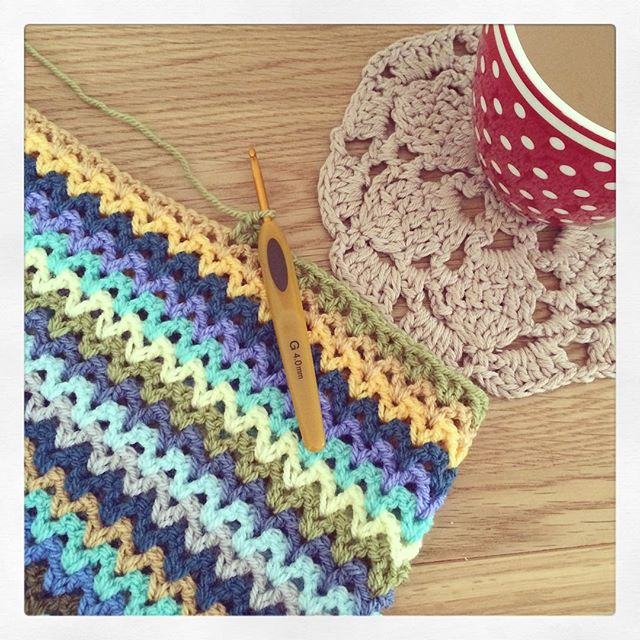 littlebirdbunting crochet bstitch