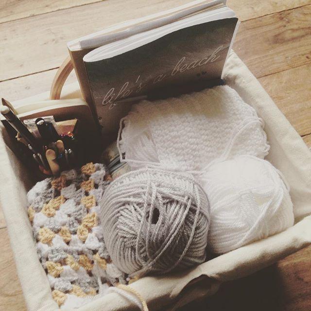 lou.teacrochet crochet basket organization
