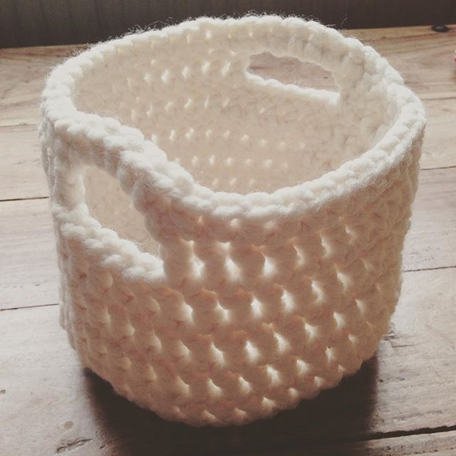 lou.teacrochet crochet basket