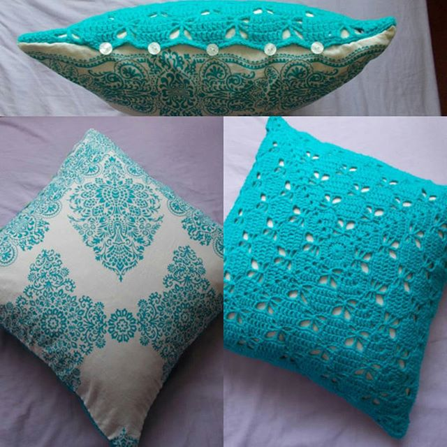 louizamakes crochet pillow