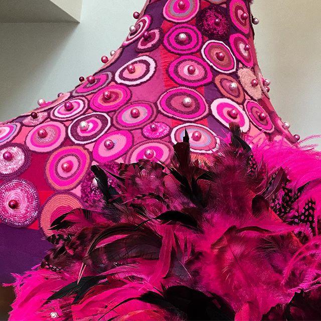 louloudeane crochet art sculpture by joana