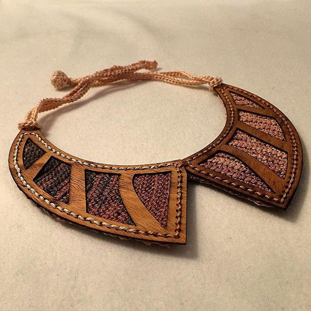 louloudeane crochet ewoodstory necklace