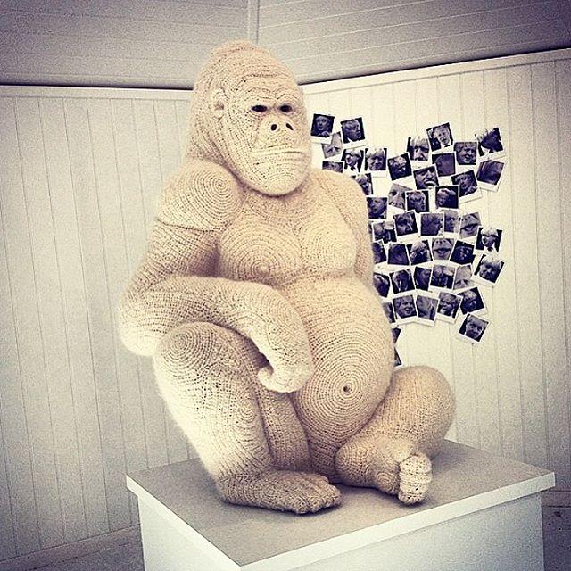 louloudeane gehaakte gorilla door shauna richardson