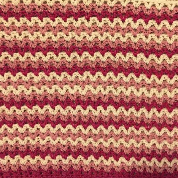 Crochet V Stitch : louloudeane crochet v-stitch