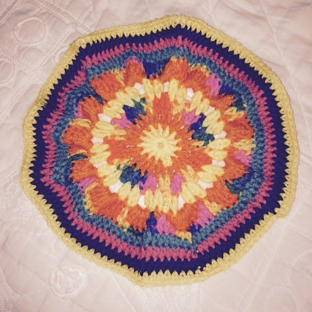 maddylopez324 crochet mandala colors
