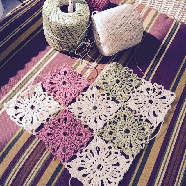 maddylopez324 crochet square motifs
