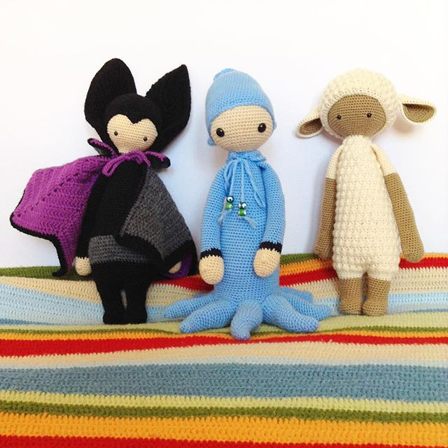 magneticmary crochet lalylala dolls