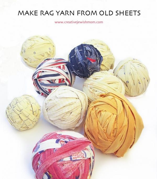 make yarn from sheets