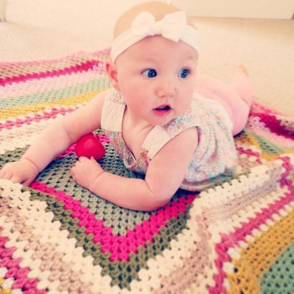make_the_nest crochet baby blanket