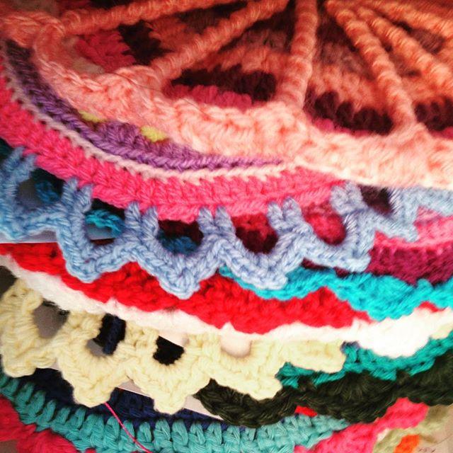 mandalasformarinke stack of crochet contributinos