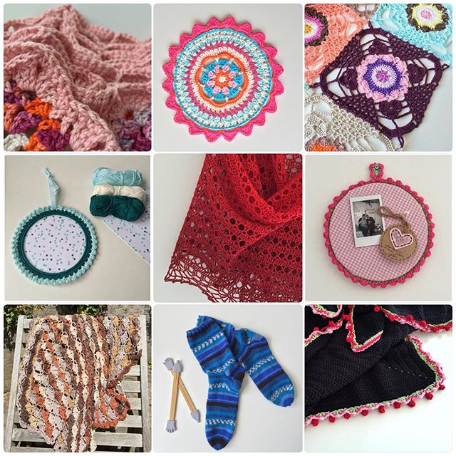 marretjeroos crochet july collage