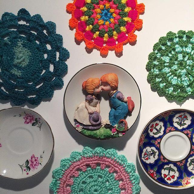 masalsidusler crochet mandalas with plates