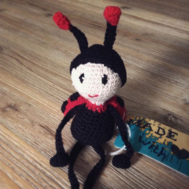 miamami_ crochetladybug bird